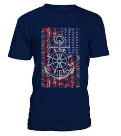 Best Sale - 488Navy - American flag T-sh
