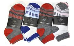 137512949913 Beverly Hills Polo Club Low Cut Fashion Womens Socks