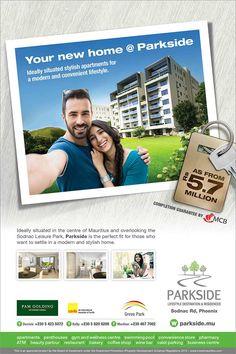 Parkside Lifestyle Destination & Residences: Your new home @ Parkside. Tel: 54 23 50 72 / 58 20 62 00 / 467 7002