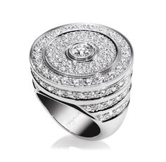 Guggenheim by Harry Winston, Diamond Ring ~ via Al.ain R. T.ruong