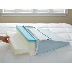 7 best bed wedge pillow leg body