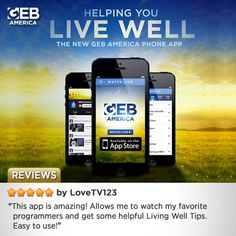 The reviews are in for the brand new GEB America free app!