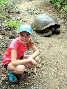 ellie, an 11 year old, packed for a purpose in the Galapagos with Ecoventura