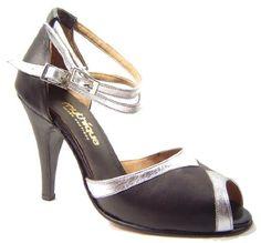 Mythique Womens Tango Ballroom Salsa Latin Leather Dance Shoes Dervishe 11 M  US     b2503b15e