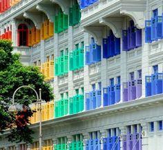 Janelas em Cingapura - Fotógrafo Lee Snider