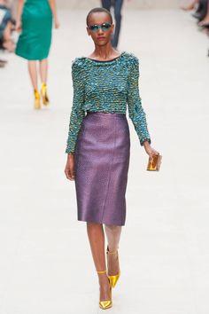 Burberry Prorsum Spring 2013 RTW Collection - Fashion on TheCut