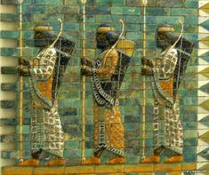 Achaemenid (Persian Empire) palace decoration at Babylon