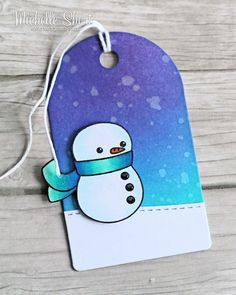 The Card Grotto: 25 Days Of Christmas Tags