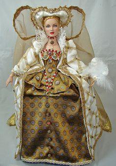 Doll in Elizabethian Gown by Tina Morgan | Flickr