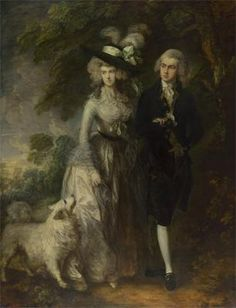 Mr an Mrs William Hallet, the Morning Walk, Gainsborough 1785