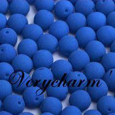 Perles de bohême neon smurfs blue