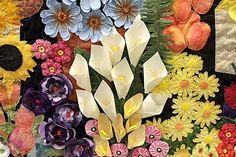 ButtonMad: Stellenbosch Quilt Show - the winning quilt - close up view
