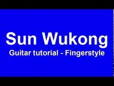 Sun Wukong - guitar tutorials fingerstyle