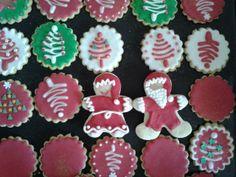 Preparando galletas de navidad!!! Mamá y papá Noel