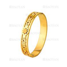 pulsera de estrella moda dorado acero inoxidable -SSBTG924222