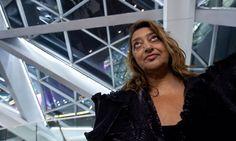 Zaha Hadid  #Hadid #Zaha Pinned by www.modlar.com
