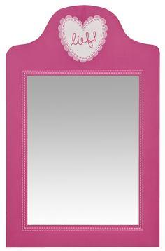 Spiegel Eefje van lief!: kleurrijke decoratie voor de meisjeskamer #kinderkamer