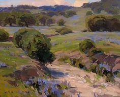 Spring, Paso Robles by Jesse Powell Oil ~ 16 x 20