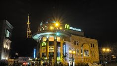 tbilisi at night with tripod no 1 golden arches (1 of 1)