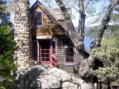I've always loved this little cabin...