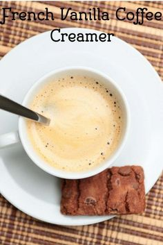In 3 Easy Steps make French Vanilla Coffee Creamer from CopyKat.com.