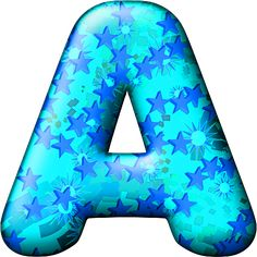 Presentation Alphabets: Party Balloon Cool Letter A