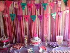 Vaeh's 1st Birthday - Cupcake theme