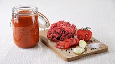 Sauce bolognaise en conserve