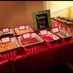 Reindeer Food Bar ... the best idea for a children's Christmas Party!
