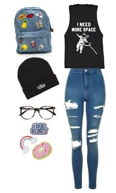"""""""Untitled #24"""" by cassidymalllen on Polyvore featuring Topshop, Vans and Ace"""