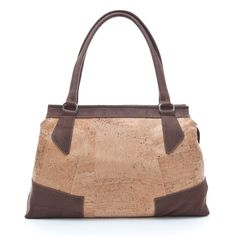 Elegant and roomy handbag made of silky smooth cork leather. Sustainable, vegan. CHF 260.00