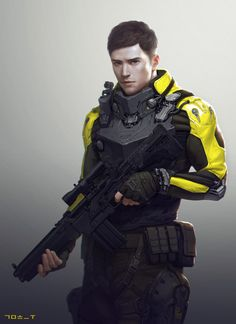 SF Military Concept, hyung woo kim on ArtStation at https://www.artstation.com/artwork/l90Na
