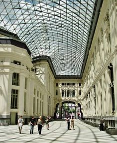 Galería de Cristal del palacio de Cibeles en Madrid