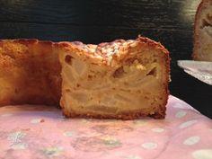 Ciambella soffice con pere e cioccolato bianco - Fulvia's Kitchen