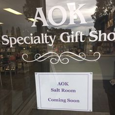 (AOK Salt Room) Coming Soon [Exciting] — I am so excited to announce that we have been working on creating our new salt room over the past few months. This has included renovating my office and moving stock to new storage locations. We are hoping to be open for business by the end of the month. Stay tuned  Bless Michelle