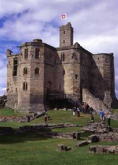 Warkworth Castle. Northumberland, England. Built in the mid12th century (Copyright © Don Brownlow)
