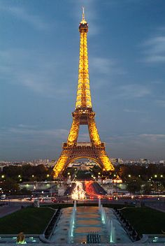 Eiffel Tower in Paris, France. I want to feel the romance it brings to the people under/at the top of the tower.#DreamGetaway #Tours4Fun