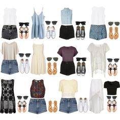 """""""Beach Outfits"""" - pretty sure i love all of these"""