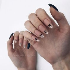 Find the perfect nail art design for your next manicure project! Get inspired with these beautiful, funny, cute and stylish nails ideas Love Nails, Fun Nails, Pretty Nails, Gorgeous Nails, Coffin Nails, Acrylic Nails, Nail Polish, Nail Nail, Manicure E Pedicure