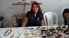 Josiane presente na 6° FEARC com seus trabalhos lindos.