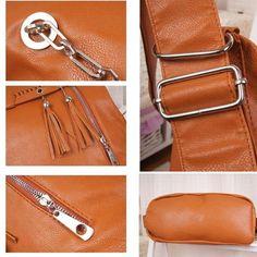 Unique Multifunction Fringed Handbag Shoulder Bags Backpacks