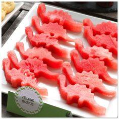 coole idee um aus wassermelone lustige tierchen auszustechen