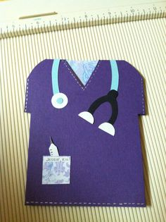 Thank you card for a special nurse who worked an extra 3 hrs on her already 12 hr shift just to stay with us.