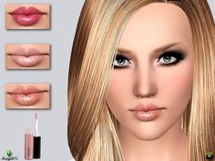 Pure Moisture Liptint by Margies Sims - Sims 3 Downloads CC Caboodle