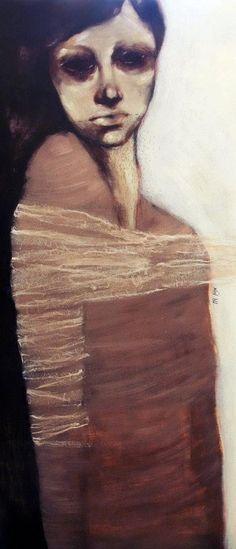 Maryam Salianeh/ Born in 1981/ M.A in Painting, Alzahra university