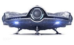UFO isolated on white background - UFO isolated on white background
