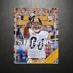 Pittsburgh Steelers Team SB XL Commemorative Sports Illustrated Cover LE of 20
