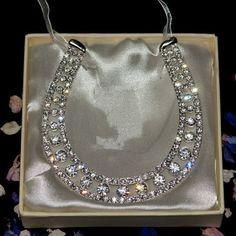 crystal wedding horseshoe :-)  awesome