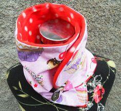Bunter Schal Tuch  Loop Muffin von Zellmann Fashion auf DaWanda.com