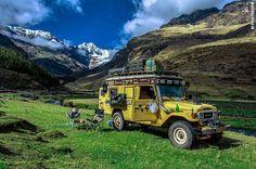 Road Travel in Peru, Part 2 – Paracas, Lima, Cordillera Blanca, Huanchaco, Cajamarca - Landcruising Adventure - A couple of hours of good weather.